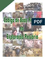 Codigo Boas Praticas Exploracao Pecuaria