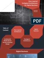 Pace-Layered Ecological Architecture for Digital Business