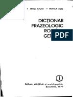 Dictionar Frazeologic Roman German PDF