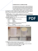 Caracteristicas de Material Polvoriento