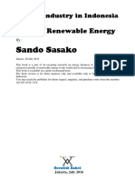 Energy Industry in Indonesia & World's Renewable Energy