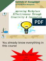 Creativity Techniques
