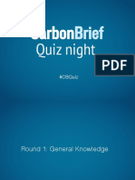 Carbon Brief Quiz 2015