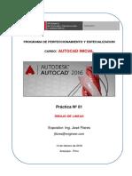01 Practica AutoCAD Inicial SENCICO