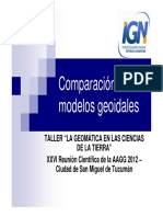 Comp Araci on Mode Los Geo i Dales