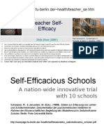 Teacher Self Efficacy