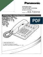 PanasonicKX-T2310