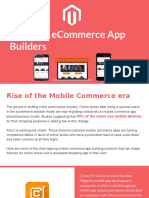 Top 5 Magento Mobile App Builder