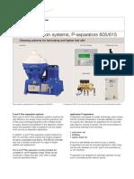 Flex Separation Systems, P-separators 605615
