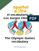 Olympics Dictionary