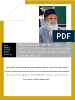The Principle and Practices Behind the Success of Abdul s Edhi