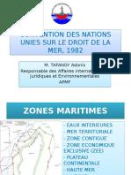 Convention Des Nations Unies Sur Le Droit de La Mer