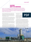 AWA Water Journal Water in Mining Feb Edition 2014