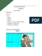 Controles y Base de Datos