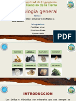 Presentación Exposición Minerales Óxidos Geologia General