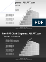 3D Stair PPT Diagrams Widescreen