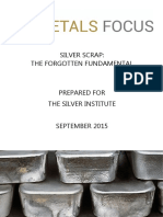 Silver Scrap Report 2015