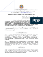 IFSULDEMINAS - normativa 2015