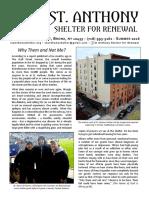 St. Anthony Newsletter - Summer 2016