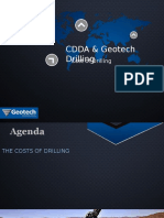 CDDA Presentation the Cost of Drilling