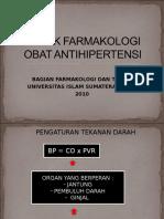 Aspek Farmakologi Obat Antihipertensi