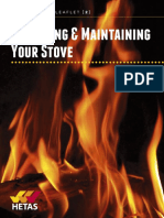 Operating & Maintaining your Stove