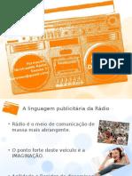 Linguagem Publicitária Rádio