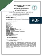 Caso Clinico toxicologia