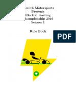 EKC Rulebook 2016