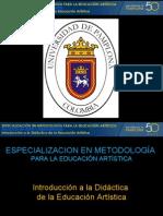 IDEARTE  Seminario Didáctica Ed. ARt.