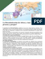 La Descolonización de Africa y Asia