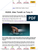 PKR _ Raise Your Game _ HUGS_ Alec Torelli vs Tony G