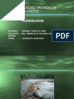 Caudales Maximos(Met Empirico)