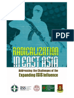 CIDS-Radicalization in East Asia Addressing the Challenges of the Expanding ISIS Influence