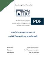 Analisi e Progettazione di un IVR innovativo e omnicanale.