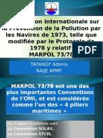 Présentation MARPOL Convention