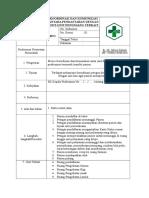 7.1.3.7 SOP Koordinasi Dan Komunikasi Antara Pendaftaran Dgn Unit Penunjang