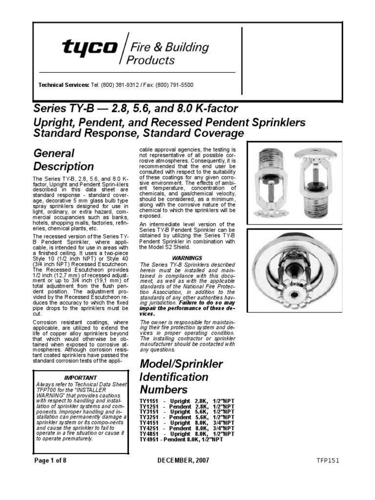 Sprinkler Con Bulbo | Fire Sprinkler System | Corrosion