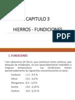 CAPITULO 3 -fundicion de hierro