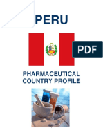 Pharmaceutical Country Profile Peru