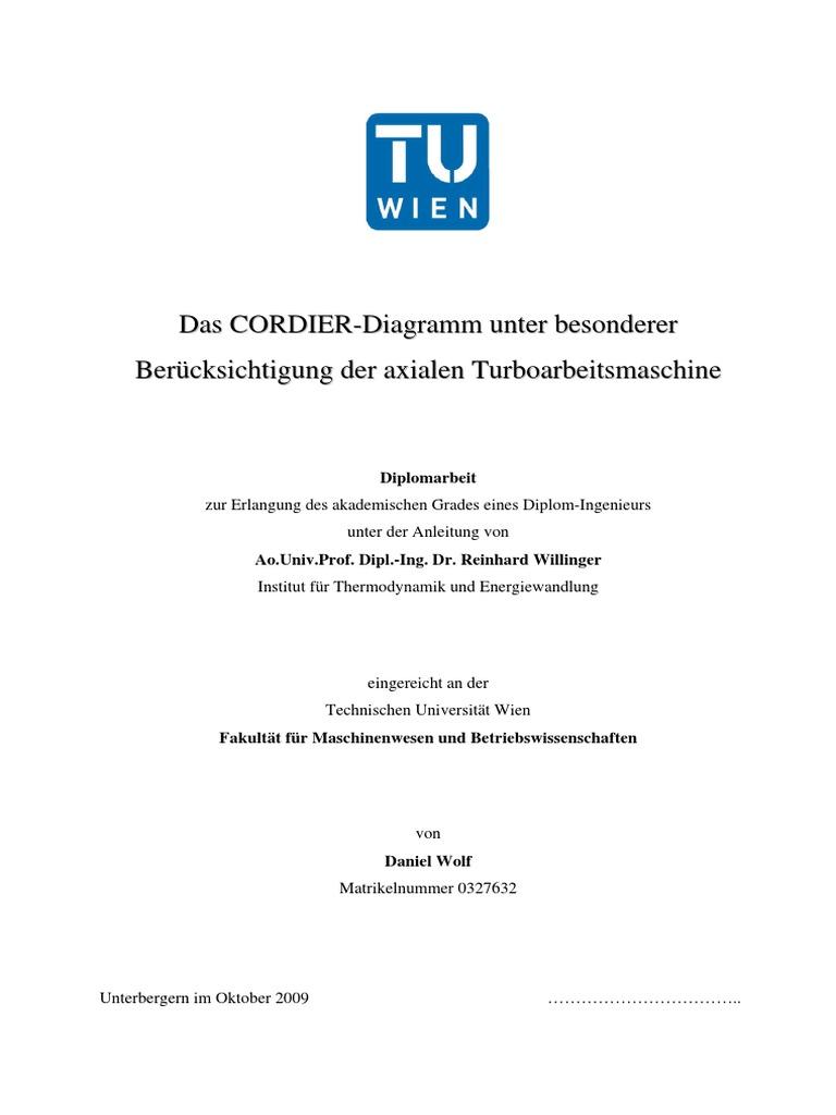Das Cordier-Diagramm Unter Besonderer Berücksichtigung Der Axialen ...