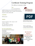 HealthIT Certificate Training Program