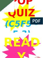 POP QUIZ C5F5-5.3 Importance of Genetic Research