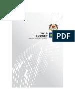 Budget Speech 2016