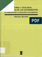 Borobio Dionisio Historia y Teologia Comparada de Los Sacramentos