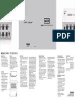 Mxr m238 Iso-brick Manual