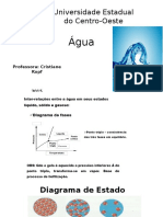 Agua - quimica de alimentos