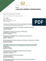 Chemistry Chromatography 2011 2012