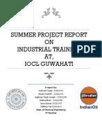 Final Report IOCL Guwahati
