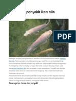 Hama Dan Penyakit Ikan Nila